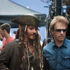 Pirates of Caribbean behind the camera Photos