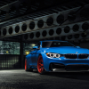 BMW Yas Marina Blue GTRS4 wallpaper
