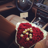 bmw tumblr rose
