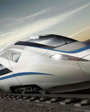 Speed Train Wallpaper