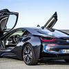 bmw i8 black car wallpaper