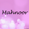 mahnoor name wallpaper