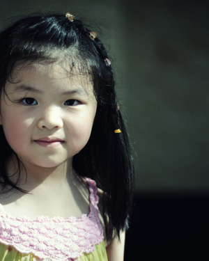 Chinese young cute girl