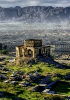A Bombed Out Mosque In Kabul Afghanistan Hdr HD Desktop Background