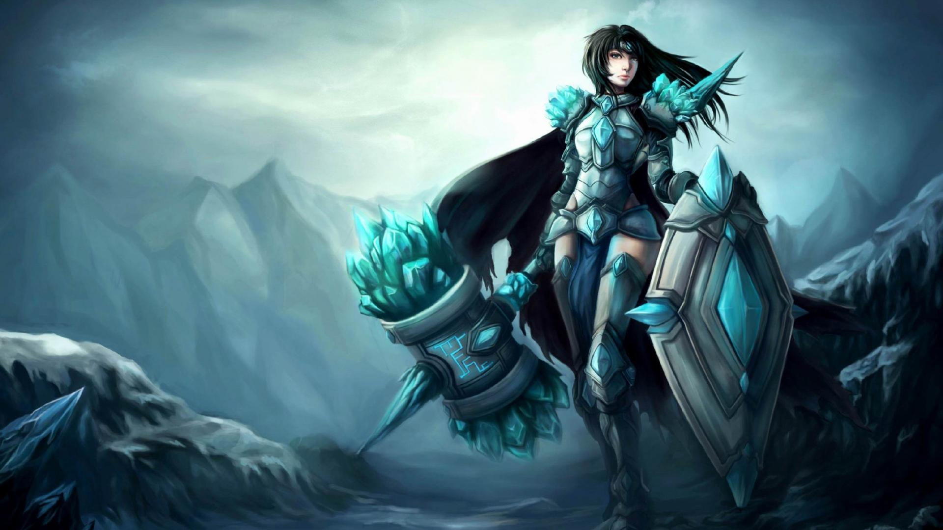 Stunning Hd Fantasy Gaming Desktop Wallpapers: Fantasy-Girl-Game-Wallpaper-HD-fantasy-girls-HD-wallpapers
