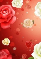 Red Roses Tumblr Background-16